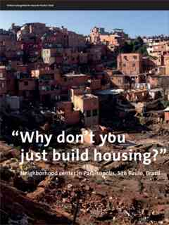 """""""Why don't you just build housing?"""" in Fifth LafargeHolcim Awards – Sustainable …"""