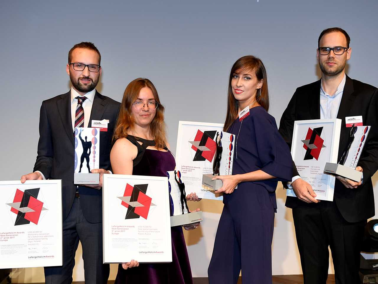 LafargeHolcim Awards 2017 for Europe prize handover ceremony, Marseille
