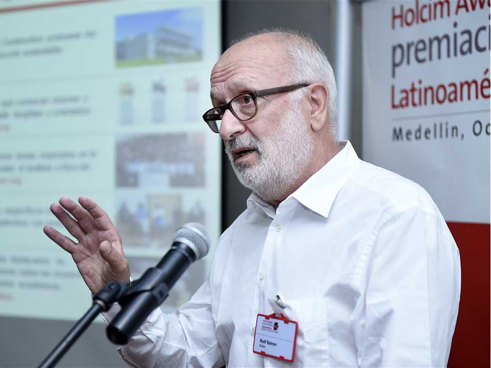 Holcim Awards Latin America media briefing, Medellín, Colombia