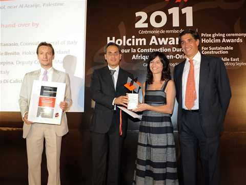 Holcim Awards ceremony for Africa Middle East 2011 – Casablanca, Morocco