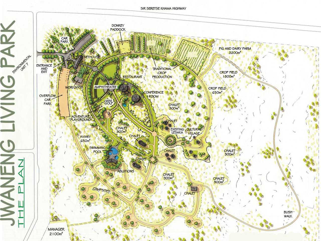 Holcim Awards Acknowledgement prize 2005 Africa Middle East: The Living Park, Jwaneng, Botswana