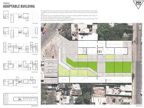 Project entry 2014 Latin America – Den-City: Urban regeneration through densification, …
