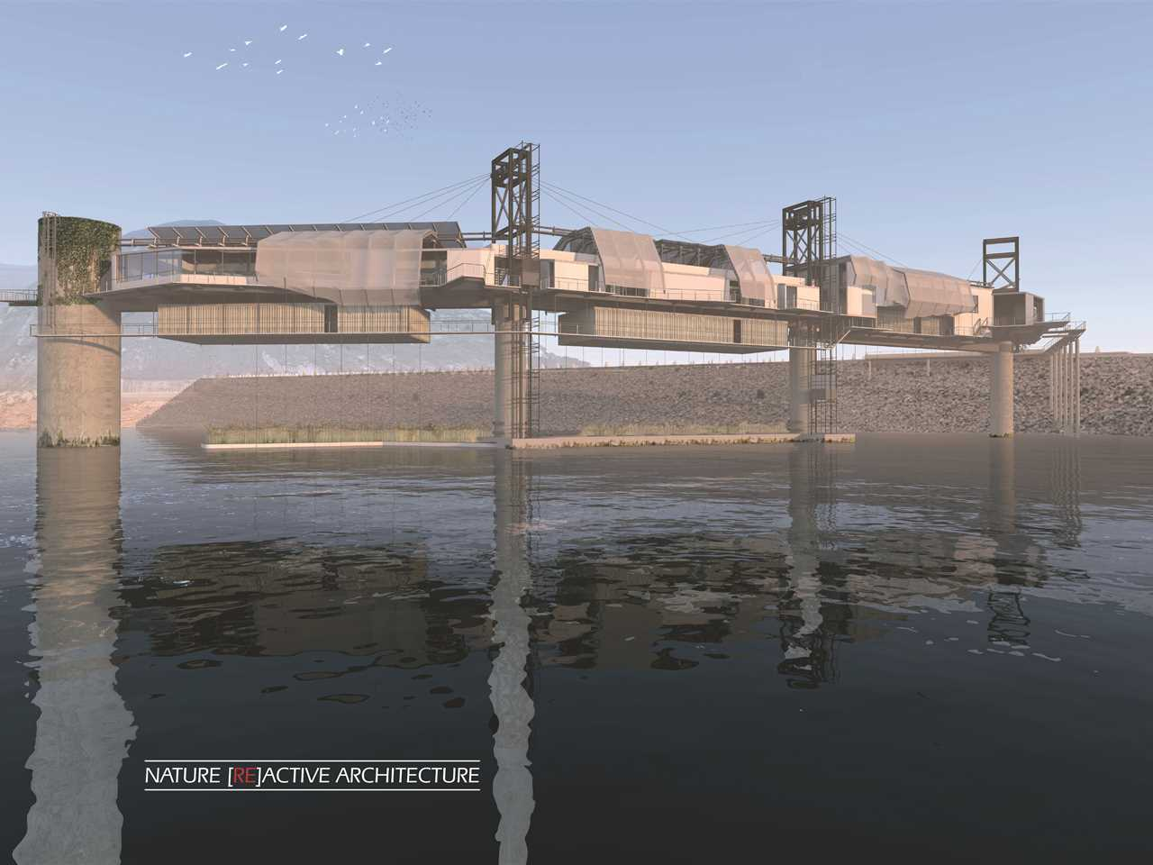 "Holcim Awards ""Next Generation"" 1st prize 2014 –Bio-Mimicry: Water research center, Fika Patso …"