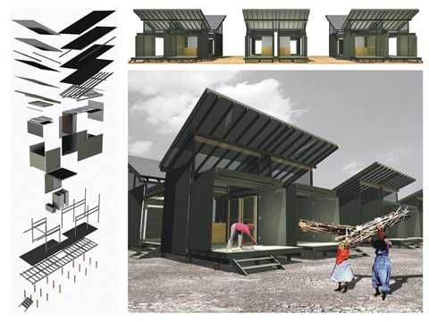 Project entry 2005 - From temporary shelters to permanent housing, Medellín, Colombia: …