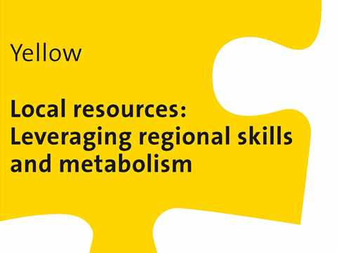 Yellow Workshop: Local resources – Leveraging regional skills and metabolism