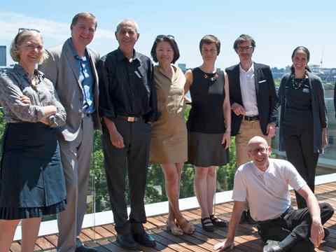 2014 Holcim Awards jury for North America