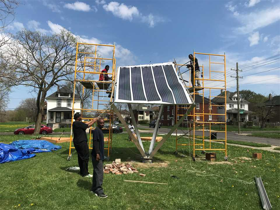 Project update June 2018 – Grassroots Microgrid in Michigan, USA