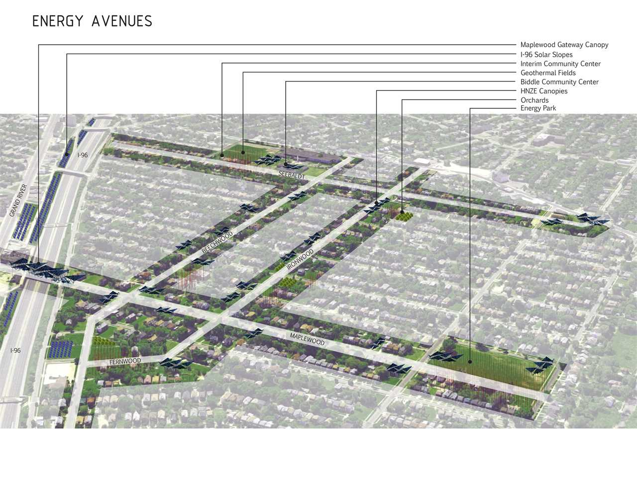 Community-driven neighborhood planning, Detroit, USA
