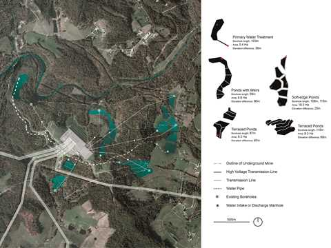 Project entry 2014 North America – Machine Landscape: Coal mining sites for hydro-pump …