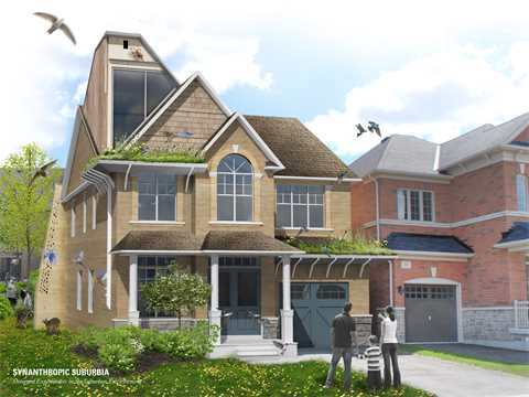 Retrofitting residential neighborhoods, Markham, Ontario, Canada