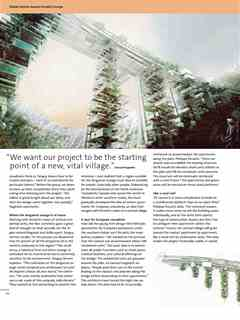 """Turning the high-rise upside down"" in Third Holcim Awards – Sustainable Construction 2011/2012"