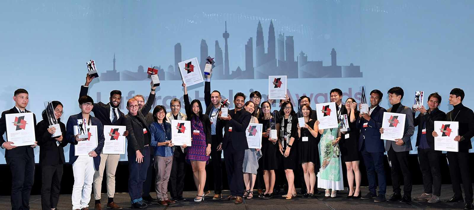 Celebrating teams from all eleven LafargeHolcim Awards prize-winning teams from Asia …