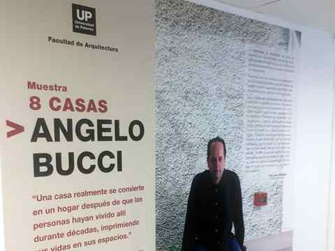 Angelo Bucci lecture at Universidad de Palermo