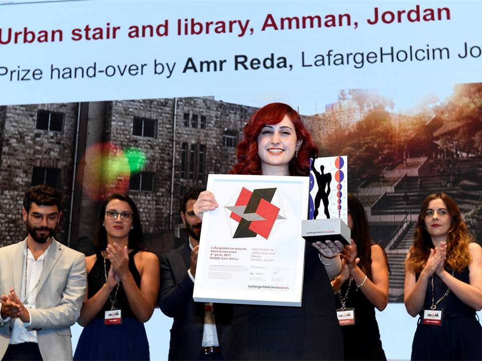 LafargeHolcim Awards 2017 for Middle East Africa prize handover ceremony, Nairobi