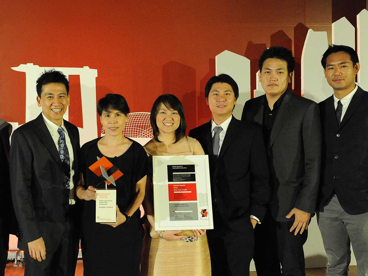 Holcim Awards 2011 ceremony for Asia Pacific – Singapore