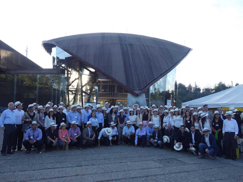 Global Gold Awards 2015 prize handover – Visiting tour to Parque Arví, Medellín, Colombia