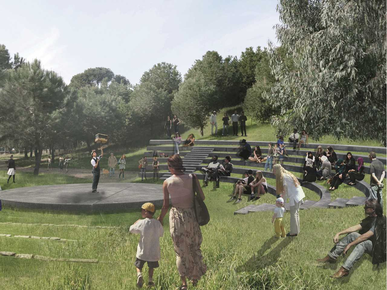 Holcim Awards Silver 2014 – Evergreen City: Urban pine forest rehabilitation, Beirut, Lebanon