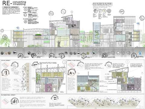 "Project entry 2011 ""Materials reuse and regional transformation scheme"", Gijón, Spain: …"
