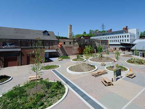 Project update February 2012 – Evergreen Brick Works heritage site revitalization, Toronto, ON, …