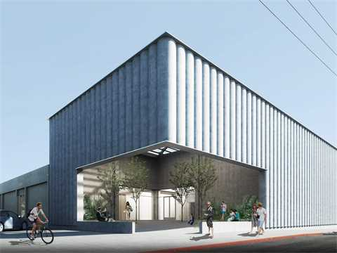 UCLA Warner Graduate Art Studio renovation and addition, Culver City, CA, USA