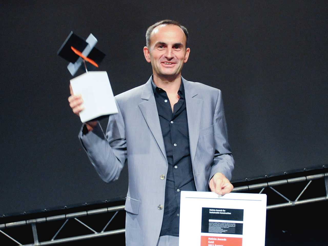 Holcim Awards ceremony for Europe 2011 – Milan, Italy