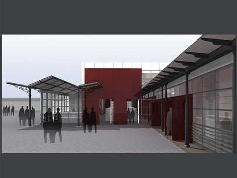 Project entry 2005 - Alternative Economy City in the Ex-Slaughterhouse, Rome, Italy: …