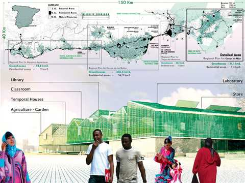 Spatial plan and agricultural restructure: The greenhouse city is a spatial planning that …
