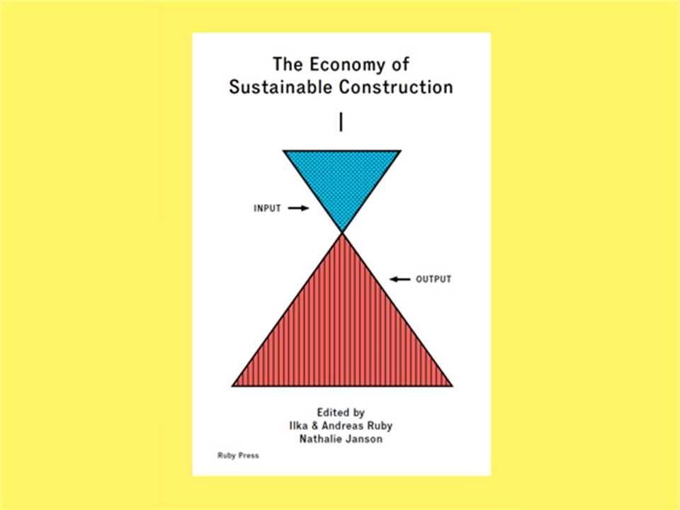 """The Economy of Sustainable Construction"" book launch, Basel, Switzerland"