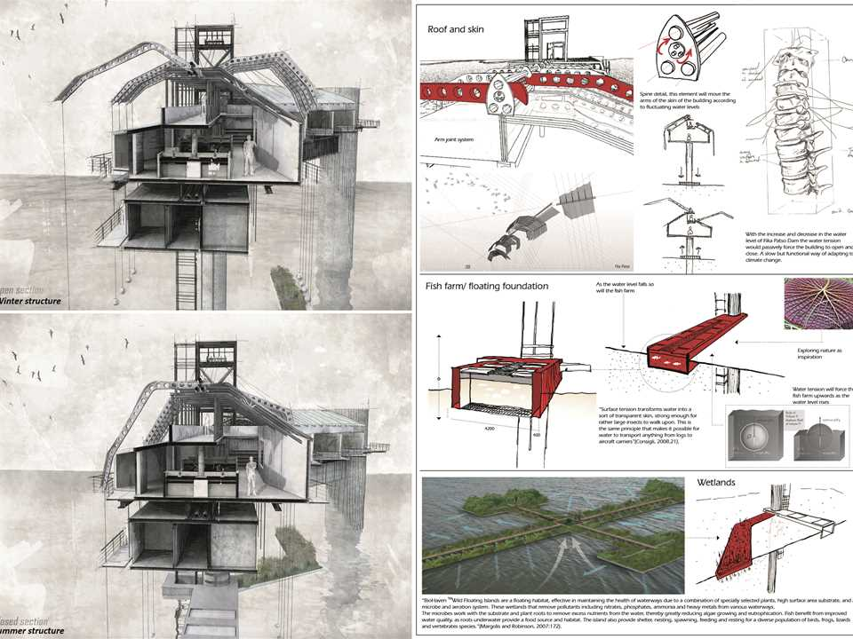 Project entry 2014 Africa Middle East - Bio-Mimicry: Water research center, Fika Patso …