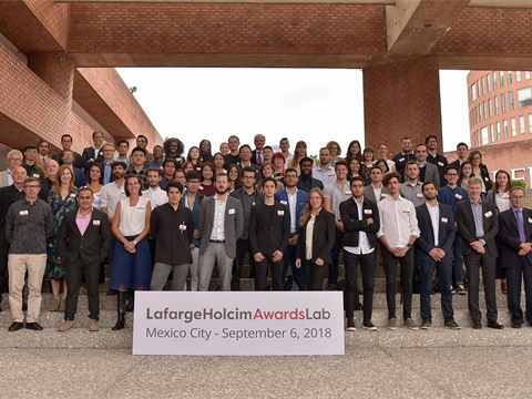 25 countries were represented at the international LafargeHolcim Next Generation Awards …