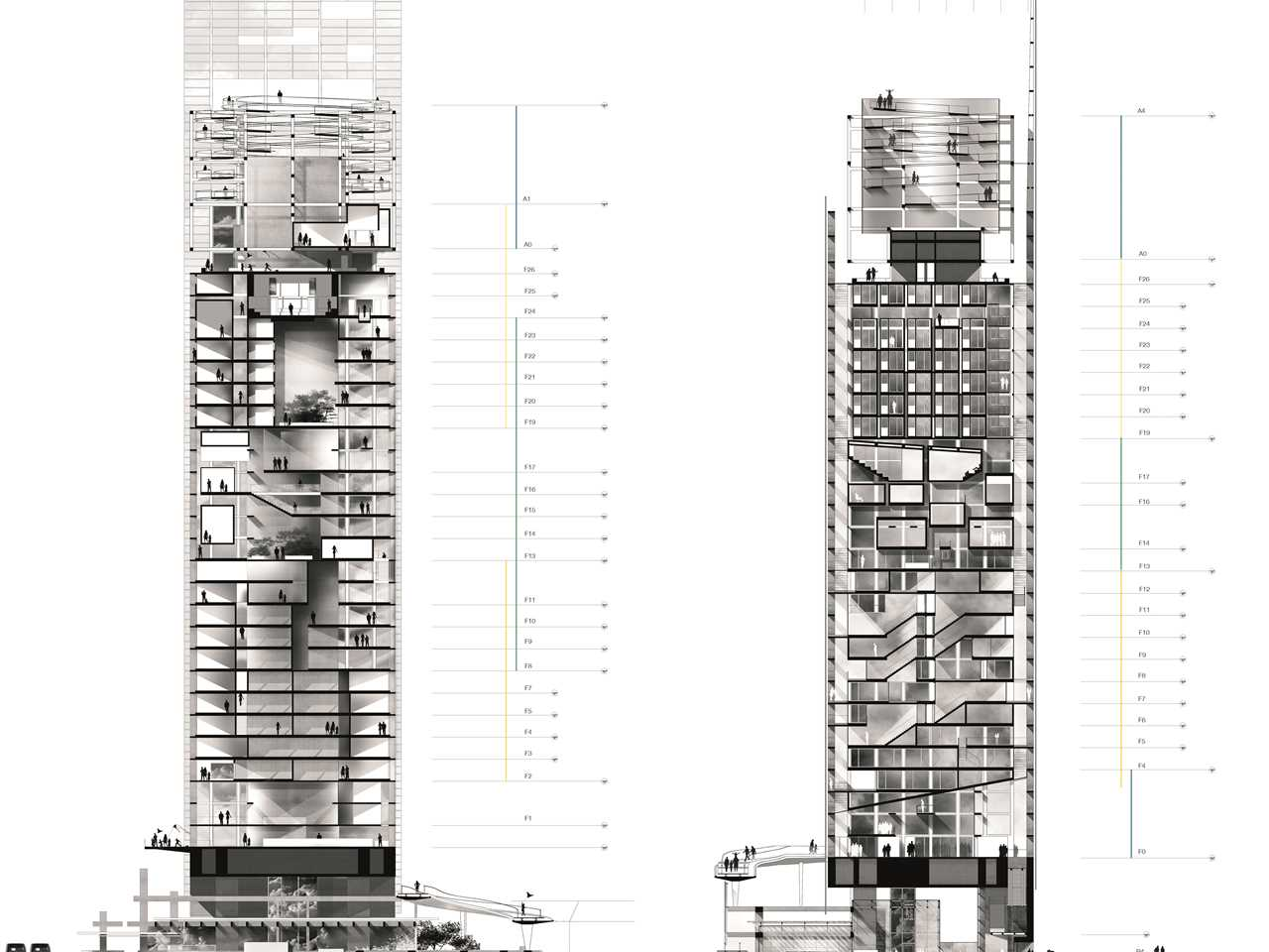 Holcim Awards Next Generation 5th 2014 Europe – Vertical Restructuring: High-rise tower …