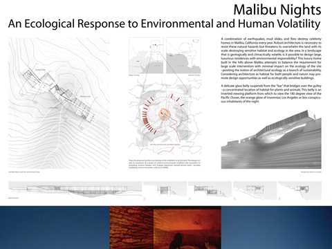 Malibu Nights - an ecological response to environmental and human volatility