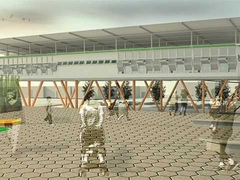 Project entry 2014 Latin America – Plaza Mediateca: Library and media center, San José, Costa Rica