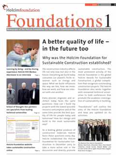 Foundations 1 – Why the Foundation was established