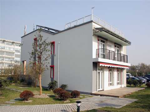 Project update March 2006 – SRIBS Minimal energy link house, Shanghai, China