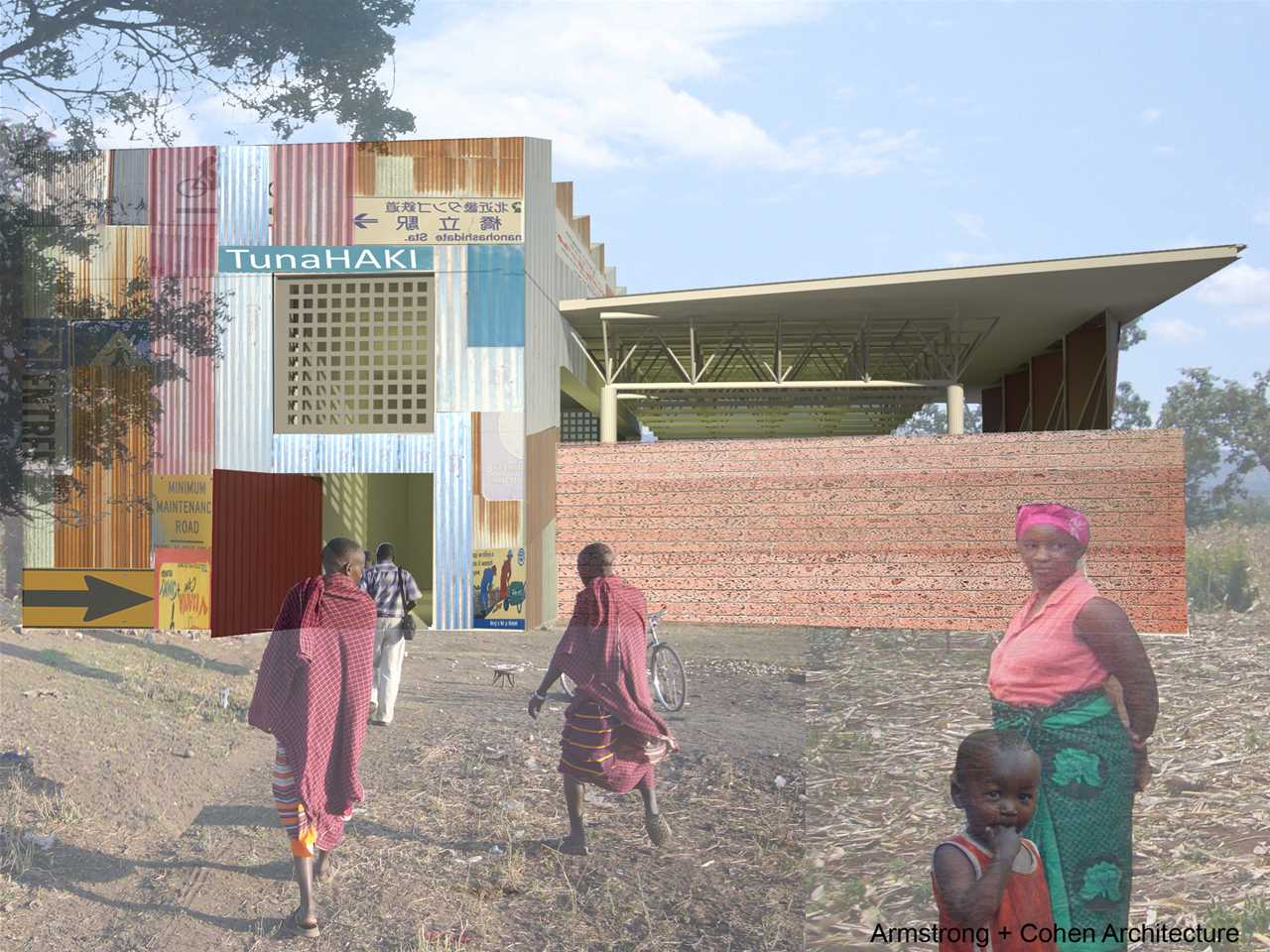 Holcim Awards Acknowledgement 2008 Africa Middle East: TunaHAKI integrated theater and orphanage, …