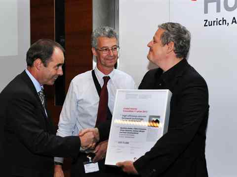 Global Holcim Awards Innovation 1st prize handover – Zurich, Switzerland