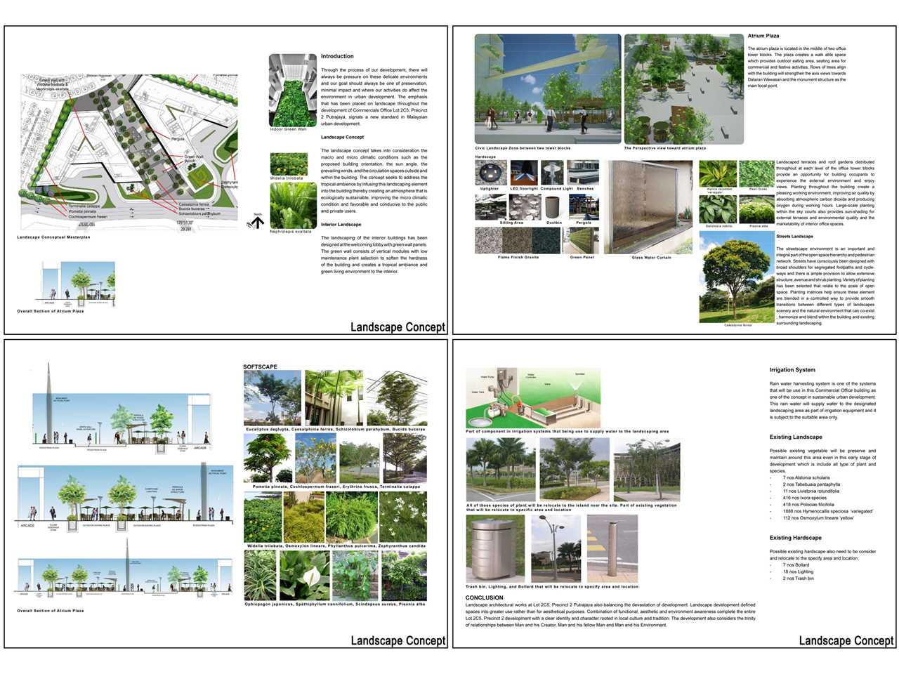 Project Entry 2011 Ecologically Designed Retail And Commercial Building Putrajaya Malaysia Habitat Landscaping Concept