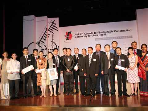 Prizes awarded to sustainable construction projects in Asia Pacific