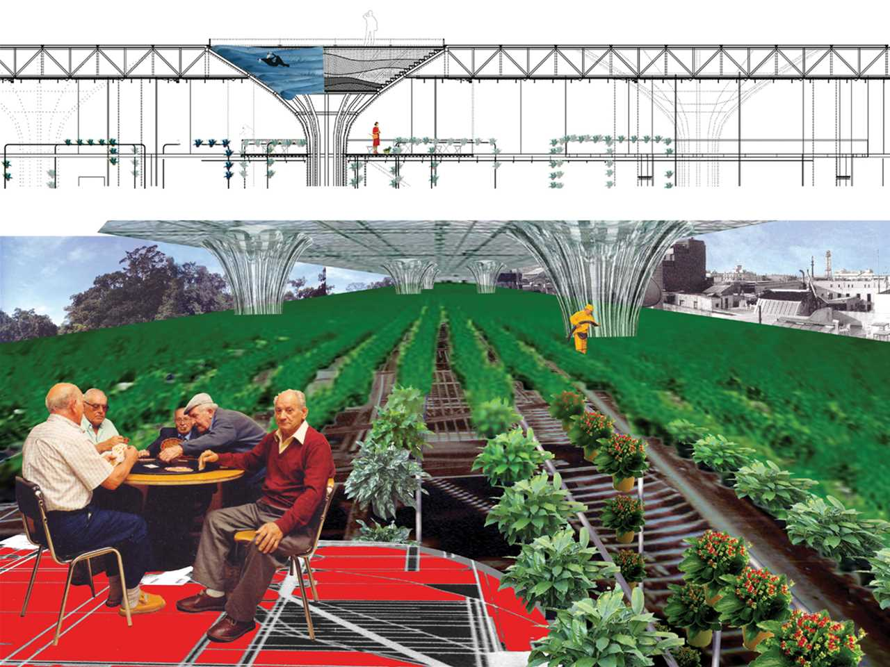 "Holcim Awards ""Next Generation"" 2nd prize 2008 Europe: Urban greening and economic …"