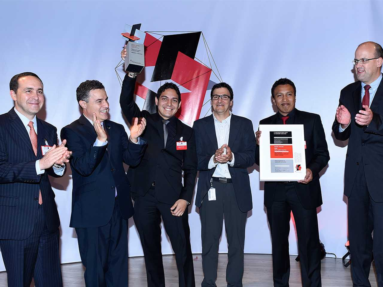 Holcim Awards 2014 for Latin America - Prize handover ceremony
