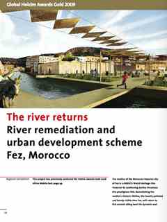 """The river returns"" in Second Holcim Awards for Sustainable Construction 2008/2009"