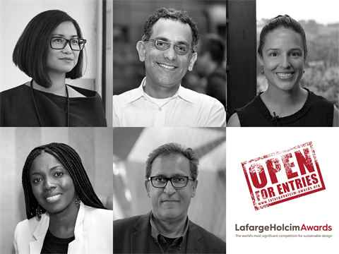 Members of LafargeHolcim Awards juries 2020 confirmed