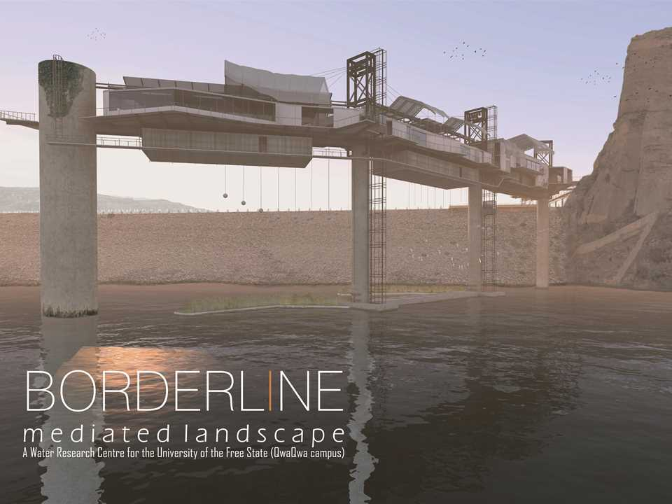 "Holcim Awards ""Next Generation"" 1st prize - Bio-Mimicry: Water research center, Fika Patso Dam, …"