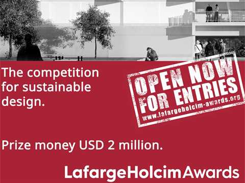 5th International LafargeHolcim Awards seeks smart solutions for cities and the built environment