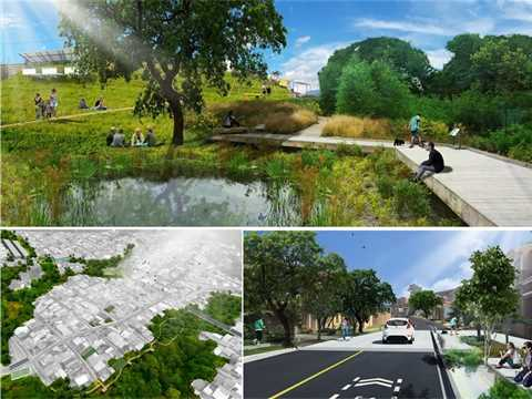 City building strategy, Curridabat, Cosa Rica
