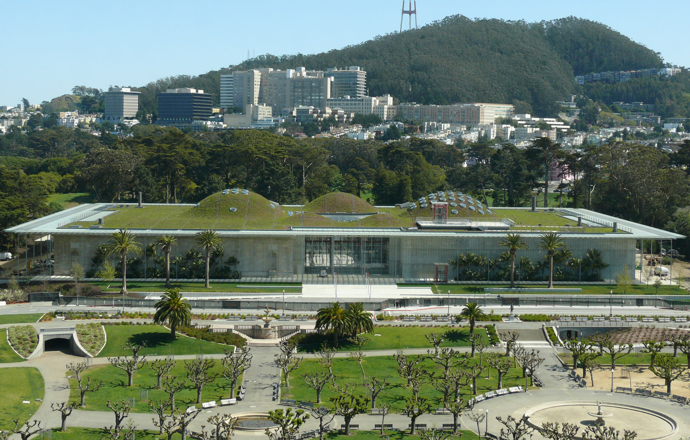 New sustainable california academy of sciences san for San francisco new museum