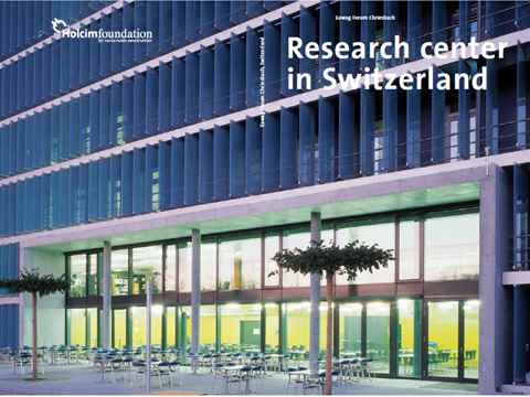 Swiss Eawag Forum Chriesbach: high-tech green building explored