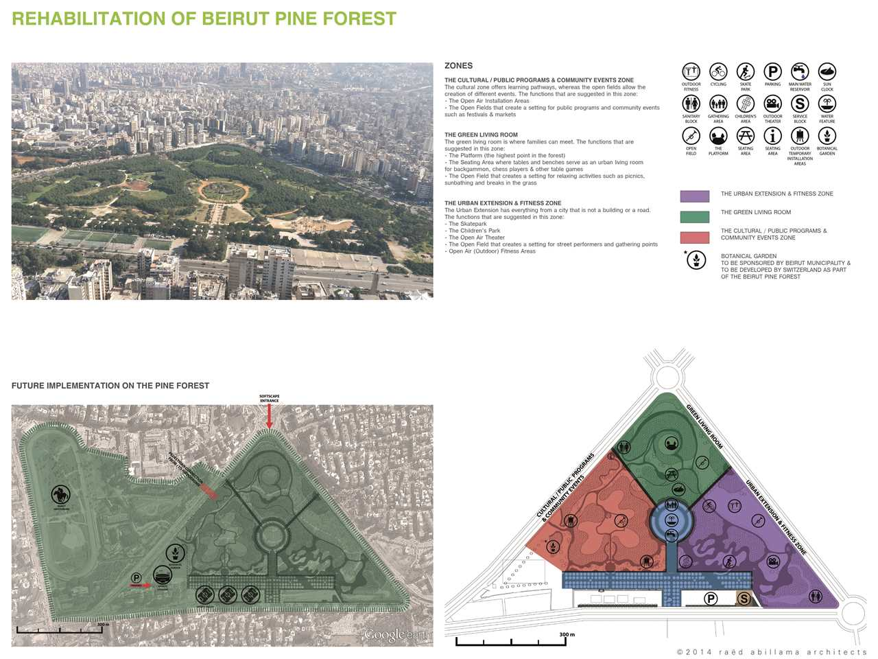 Project entry 2014 Africa Middle East - Evergreen City: Urban pine forest rehabilitation, …