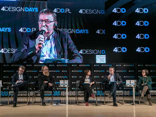 One of the opening panels at the 4 Design Days (4DD) in Katovice debating on how cities …
